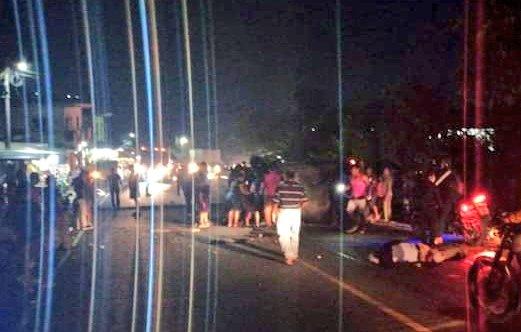 Los heridos fueron trasladados al hospital de Retalhuleu. Foto Prensa Libre: RBCNoticiasGT.