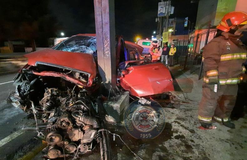 Accidentes de tránsito durante Halloween cobran víctimas mortales