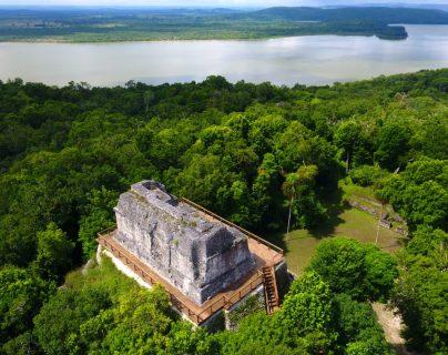 El Parque Nacional Yaxhá, se ubica en Petén. (Foto Prensa Libre: Hemeroteca PL)