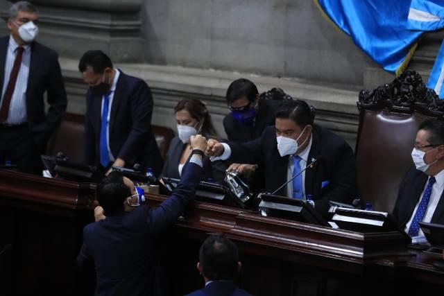 Junta directiva del Congreso se reelige mediante planilla única y con 107 votos
