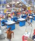 Accidente en supermercado de Brasil