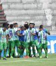 Josué Martínez anotó un doblete en la victoria de Antigua GFC por 3-1 sobre Iztapa. (Foto Prensa Libre: Cortesía Andrés ADF)