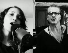 """""""El blues de la notoriedad"""" es el nuevo dueto de Ricardo Arjona y Gaby Moreno. (Foto Prensa Libre: Cortesía Metamorfosis)"""