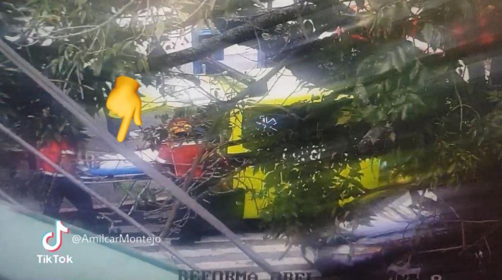 Balacera en La Reforma: mujer de la tercera edad resulta herida por hombre que disparaba al aire