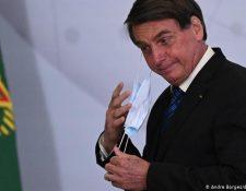 """""""El pueblo brasileño no será conejillo de Indias de nadie"""", manifestó el mandatario sobre la vacuna de Sinovac.(Andre Borges/dpa/picture-alliance)"""