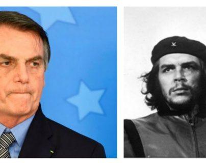 """El presidente de Brasil, Jair Bolsonaro, afirmó que el legado de Ernesto """"Che"""" Guevara """"solo inspira a marginales, drogadictos y la escoria de la izquierda"""". (Foto Prensa Libre: Hemeroteca PL)"""