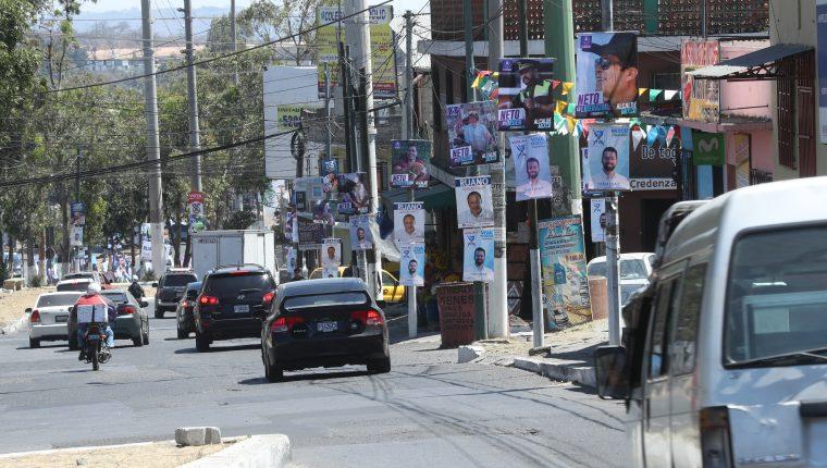 El Registro de Ciudadanos multó a 53 candidatos durante la campaña 2019. Ninguno ha pagado las multas impuestas. (Foto Prensa Libre: Hemeroteca PL)                                                                                            Fotograf'a Esbin Garcia 18-03- 2019.