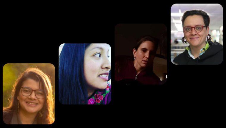 En la historia del cine de Guatemala, las mujeres también destacan. (Foto Prensa Libre: Fabriccio Díaz, Ixmayab Producciones, cortesía Anaïs Taracena y Alejandro Ortíz).