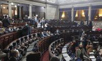 Sesión del pleno del Congreso este 14 de octubre. (Foto Prensa Libre: Byron García)