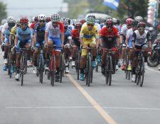 Julio Padilla, de Ópticas Deluxe,  espera retener el suéter de líder de la la Vuelta a Guatemala. (Foto Prensa Libre: Esbin García).
