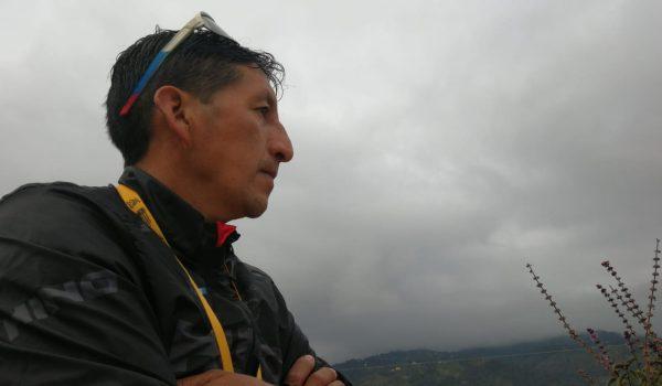 Alberto Fermín Méndez, campeón de la Vuelta a Guatemala en 2000. Foto Jorge Ovalle.