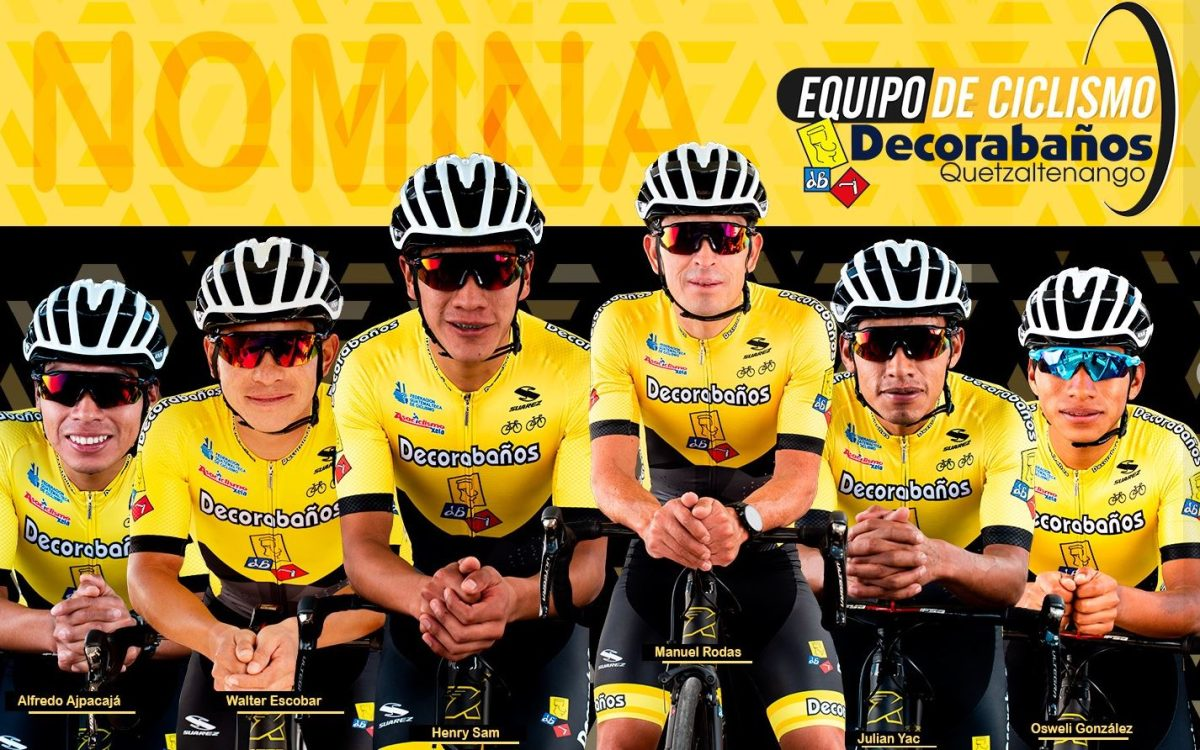 Ciclista de Decorabaños da positivo a coronavirus previo al inicio de la Vuelta Ciclística a Guatemala
