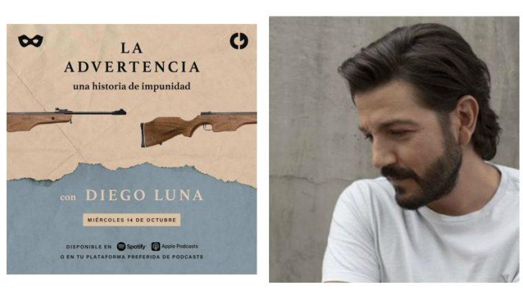 """Diego Luna incursiona en el mundo del podcast con """"La advertencia"""". (Foto Prensa Libre: Forbes)"""