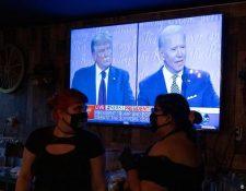 El presidente de EE.UU. estuvo en Pensilvania donde criticó e incluso se burló de su oponente que estuvo en Florida. (Mike Blake/Reuters)