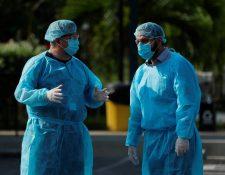 """El Salvador levanta """"cerco sanitario"""" en localidad por alza de casos de coronavirus. (Foto Prensa Libre: EFE)"""