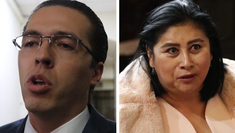 Aunque Estados Unidos señala a Felipe Alejos y Delia Bac de corrupción, en Guatemala han conservado su inmunidad para no ser investigados. (Foto Prensa Libre: Hemeroteca PL)