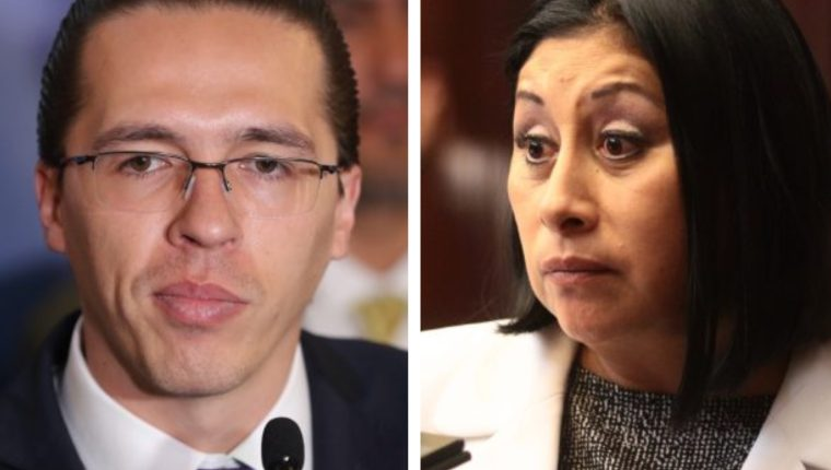 Felipe Alejos y Delia Bac no podrán ingresar a Estados Unidos. (Foto Prensa Libre: Hemeroteca PL)