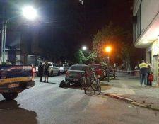 La escena del crimen la noche del 30 de octubre. (Foto Prensa Libre: lacapital.com.ar)