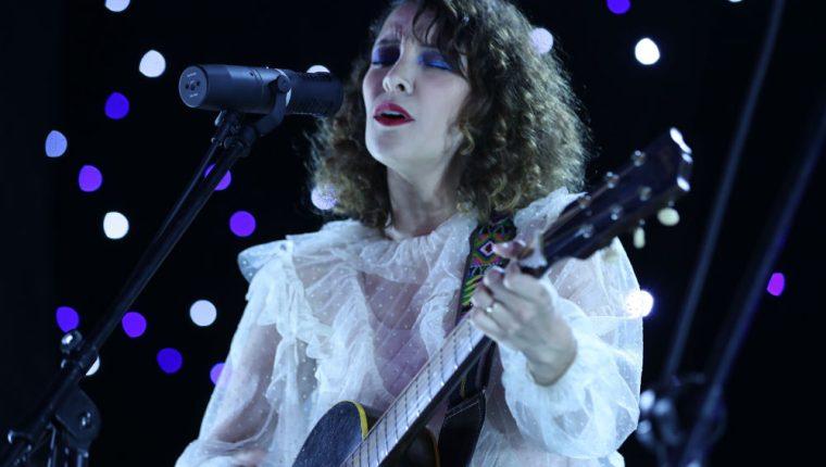 La cantautora guatemalteca Gaby Moreno ofrecerá su VII Festival Acústico. (Foto Prensa Libre: Keneth Cruz)