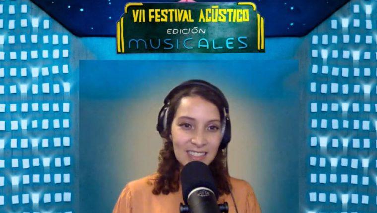 Gaby Moreno presentó su VII Festival Acústico en formato virtual. (Foto Prensa Libre: Cortesía Gaby Moreno)