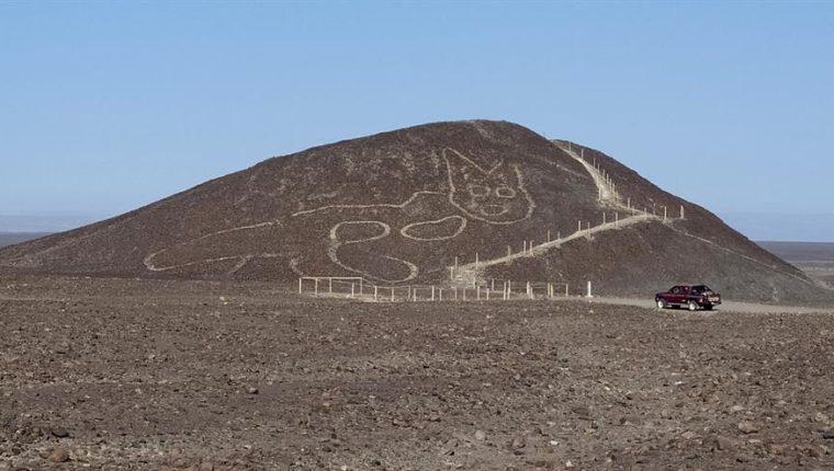 Descubren un nuevo geoglifo en forma de gato en las líneas de Nazca –  Prensa Libre