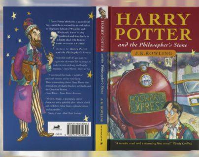 """Ejemplar de """"Harry Potter y la piedra filosofal"""", será subastado. (Foto Prensa Libre: Hemeroteca PL)"""