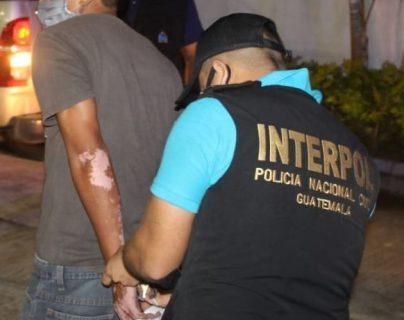 Salvadoreños fueron apresados en Petén. (Foto: PNC)