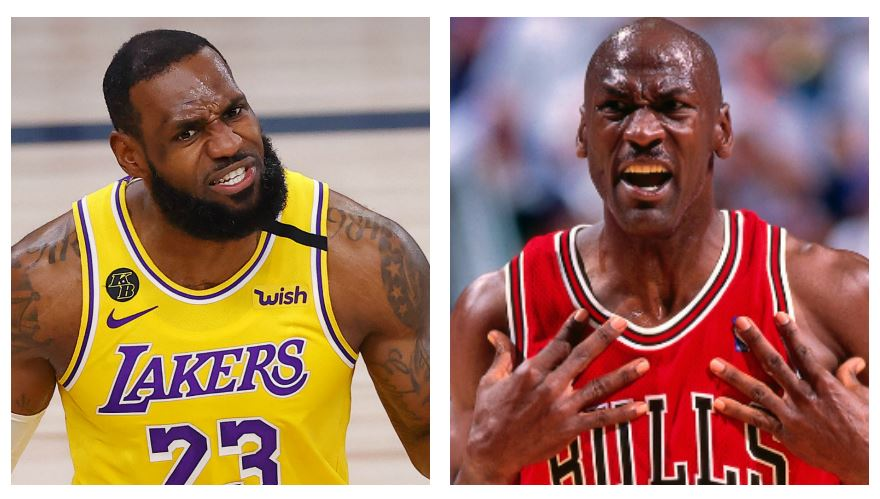 ¿Quién es mejor LeBron James o Michael Jordan? Esto dicen los números