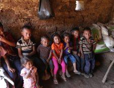 Uno de cada dos niños padece desnutrición crónica en Guatemala. (Foto Prensa Libre: Hemeroteca PL)