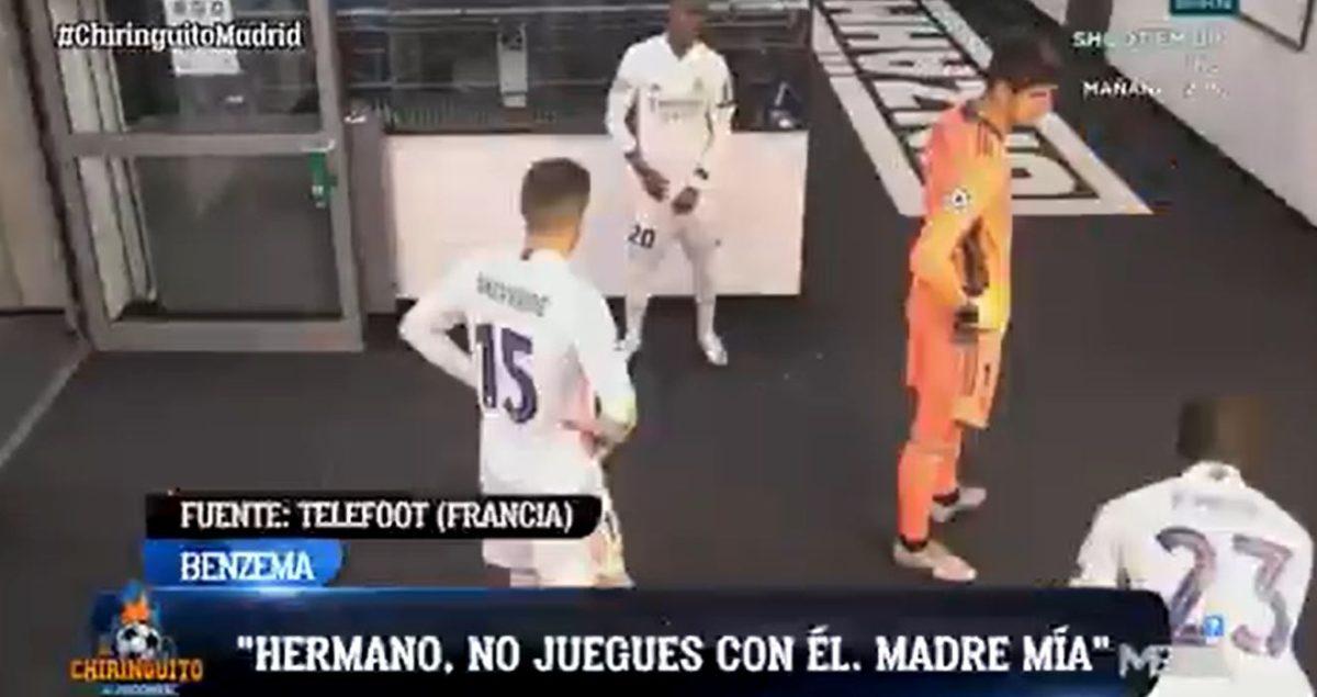 """""""No se la pases a él"""", se filtra la polémica conversación sobre Vinicius entre Benzema y Mendy"""