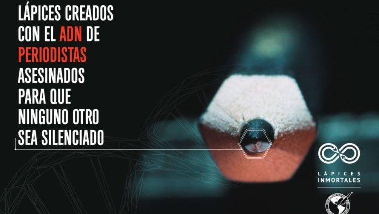 La campaña Lápices Inmortales de la SIP aboga por justicia y contra la violencia hacia el ejercicio periodístico.
