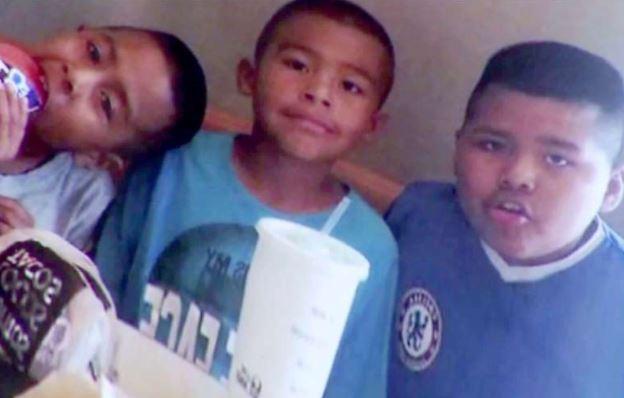 Los tres hijos de Luiz Fuentes, asesinados por él mismo. (Foto Prensa Libre: internet)