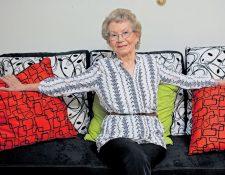 La actriz guatemalteca María Teresa Martínez falleció a los 84 años. (Foto Prensa Libre: Hemeroteca PL)