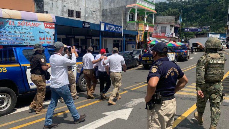 Durante un operativo de la Interpol en México fue capturado César Montes, quien era requerido por Guatemala sindicado de varios delitos. (Foto Prensa Libre: Cortesía)