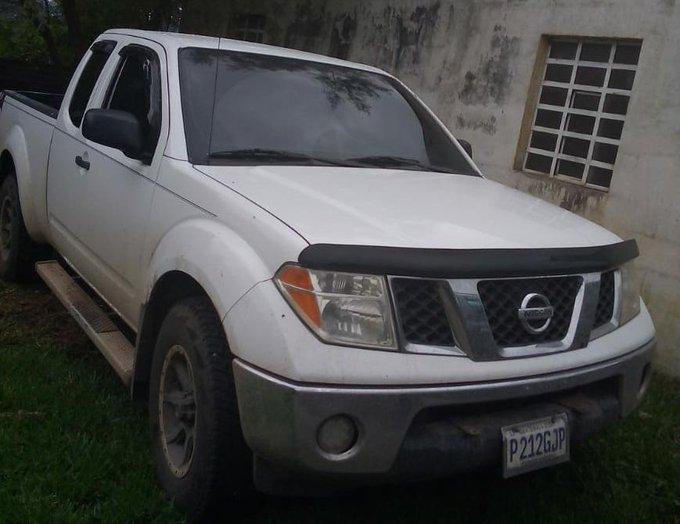 PNC localiza en Baja Verapaz un vehículo que tenía reporte de robo en ciudad de Guatemala