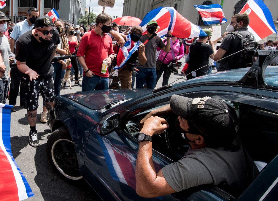 Crisis en Costa Rica: 200 contendores paralizados por protestas sociales