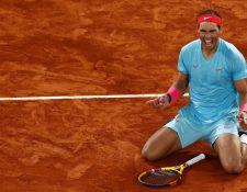 La prensa y deportistas mundiales elogian a Rafael Nadal. (Foto Prensa Libre: EFE)