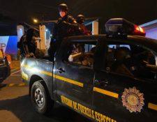Un total de 13 líderes del barrio 18 volvieron a ser trasladados para evitar coordinaciones criminales. (Foto Prensa Libre: Hemeroteca PL)