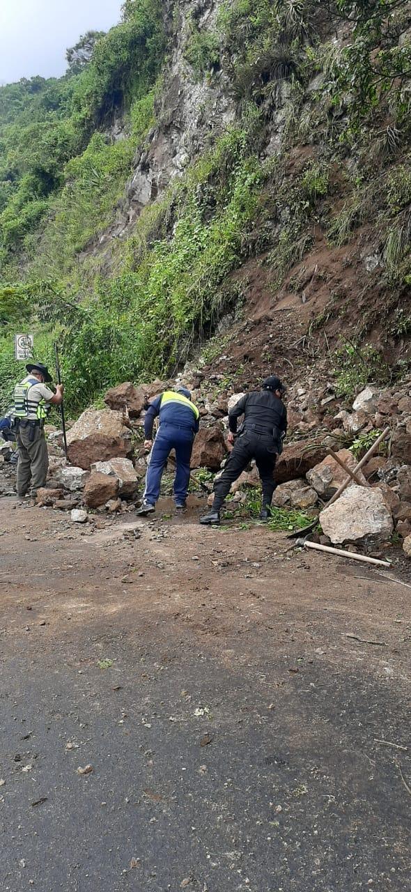 Deslizamiento en Quetzaltenango