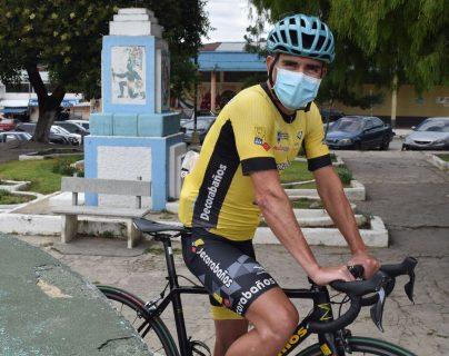 Manuel Rodas sueña con seguir haciendo historia en el ciclismo