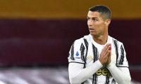 Debido al coronavirus, Cristiano Ronaldo se perdió cuatro juegos con la Juventus. (Foto Prensa Libre: AFP)