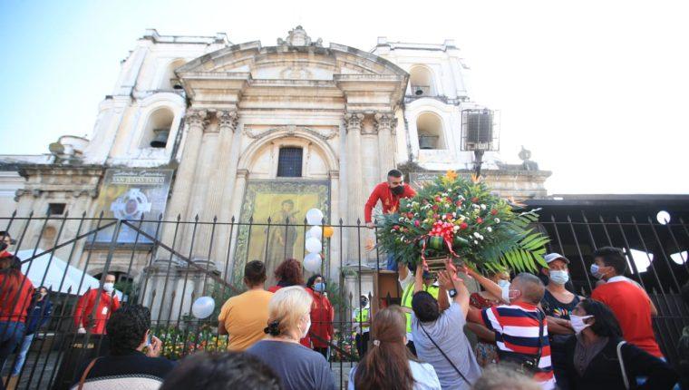 La Iglesia Católica celebra el 28 de octubre la devoción por San Judas Tadeo.(Foto Prensa Libre: Carlos Hernández Ovalle)