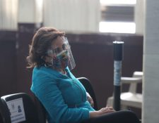 Sandra Torres mantiene una disputa por la secretaría de la UNE en tanto enfrenta proceso por financiamiento electoral no registrado. (Foto Prensa Libre: Érick Ávila)