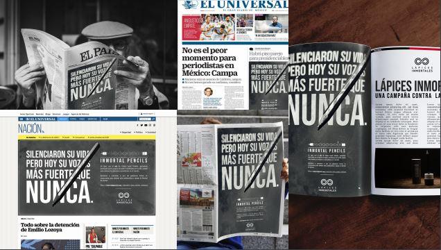 Campaña de SIP contra impunidad tiene lápices con ADN de periodista muertos y desaparecidos