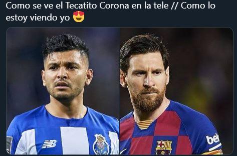 Las redes sociales mostraron su admiración hacia 'el Tecatito' Corona. (Foto Prensa Libre: Twitter @thelmusa)
