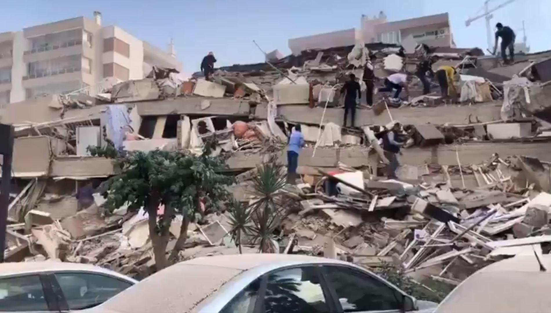Temblor de magnitud 7.0 se registra frente a isla griega de Samos y causa  severos daños en Turquía – Prensa Libre