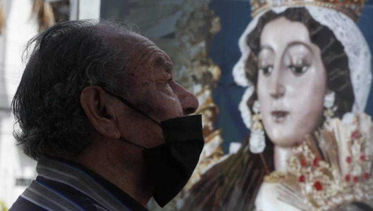 El Mes del Rosario en Casa contará con varias actividades. (Foto Prensa Libre: Esbin García)
