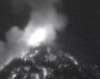 La Conred informó que la explosión fue audible en varias comunidades aledañas al Volcán de Fuego. (Foto: captura de YouTube)