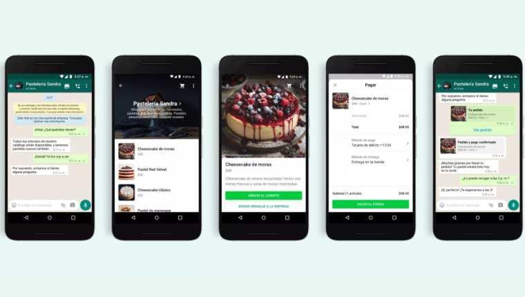 WhatsApp reforzará las compras, pagos y atención al cliente en la app. (Foto Prensa Libre: WhatsApp)