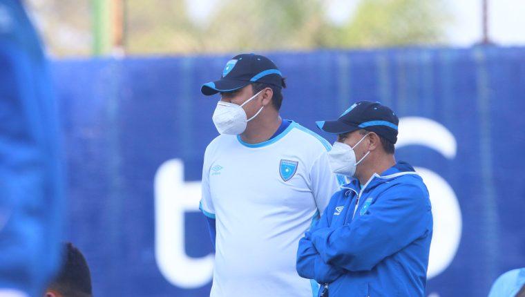 Amarini Villatoro, técnico de la Selección de Guatemala, en el Centro de Alto Rendimiento. (Foto Prensa Libre: Cortesía Fedefut)